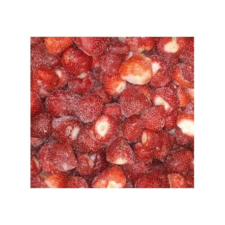 FRAGOLE DEPICCIOLATE SURGELATE SCALIBRATE 2° IQF 1X10kg STRAWBERRY FROZEN UNCALIBRATED